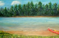 3680 – The Red Canoe
