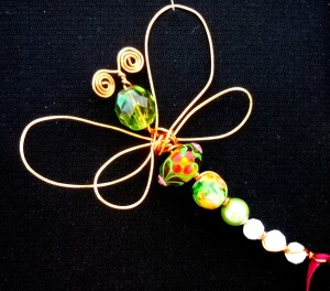 Dragonfly Brooch #4