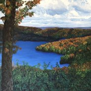 3768 – Smoke Lake from Hardwood Outlook Trail, Algonquin Park