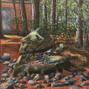3789 – Stone Fountain in Fall